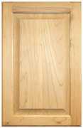 Raised Panel Door -   Knotty Alder