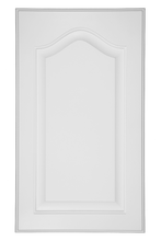 Raised Panel with Cathedral Painted Door