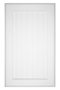 Flat Beaded Panel Door Primed