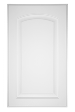 Raised Panel with Arch Door Primed
