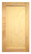 Stained Shaker Door - Maple