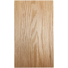 Stained Solid Slab Door - Oak