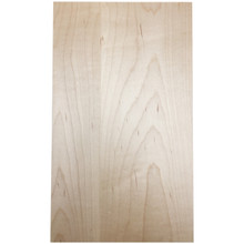 Stained Solid Slab Door   Maple
