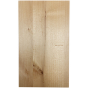 Stained Solid Slab Door - Knotty Alder