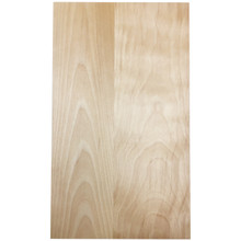 High Quality Stained Solid Slab Door Birch