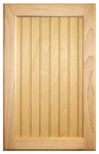 Stained Flat Beaded Panel Doors - Maple