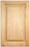 Stained Raised Panel Doors - Cherry