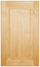 Stained Raised Panel Doors - Knotty Alder