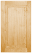 Stained Raised Panel Doors - Superior Alder