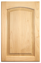 Stained Raised Panel with Arch Doors - Oak