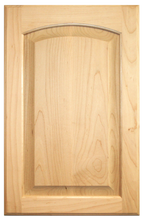 Stained Raised Panel with Arch Doors - Maple