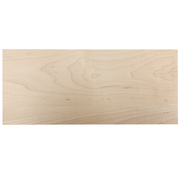 Stained Solid Slab Drawer Front - Maple
