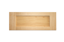 Stained Shaker Drawer Fronts - Maple