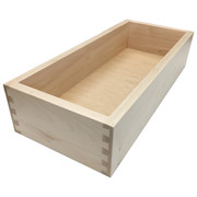 Dovetail Drawer Box - End View
