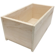 Plywood Drawer Box - End View