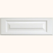 MDF Raised Panel Drawer Front Primed