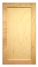 Unfinished Shaker Door Maple