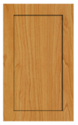 Thermofoil Shaker Doors - Honey Maple