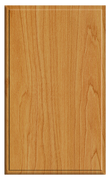 Thermofoil Solid Slab Doors - Honey Maple