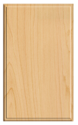 Thermofoil Solid Slab Doors - Natural Maple