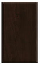 Thermofoil Solid Slab Doors - Chocolate Pear