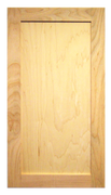 Unfinished Shaker Door Cherry