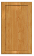 Thermofoil Flat Panel Doors - Honey Maple