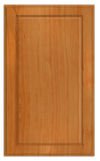 Thermofoil Flat Panel Doors - Pearwood