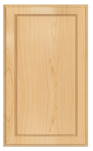 Thermofoil Flat Panel Doors - Natural Maple