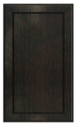 Thermofoil Flat Panel Doors - Espresso Oak