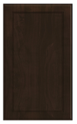 Thermofoil Flat Panel Doors - Chocolate Pear