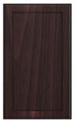 Thermofoil Flat Panel Doors -  Brazilian Walnut