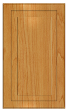 Thermofoil Raised Panel Doors -  Honey Maple