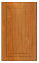 Thermofoil Raised Panel Doors - Pearwood
