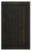 Thermofoil Raised Panel Doors - Espresso Oak