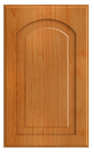 Thermofoil Raised Panel With Arch Doors -  Pearwood