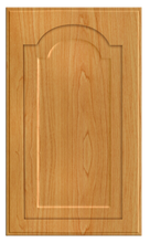 Thermofoil Raised Panel With Cathedral Doors - Honey Maple