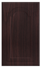 Thermofoil Raised Panel With Cathedral Doors - Brazilian Walnut