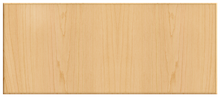 Thermofoil Solid Slab Drawer Fronts -  Natural Maple