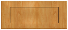Thermofoil Shaker Drawer Fronts - Honey Maple