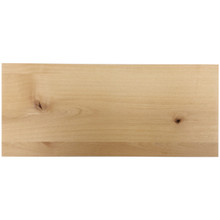Stained Solid Slab Drawer Front - Knotty Alder