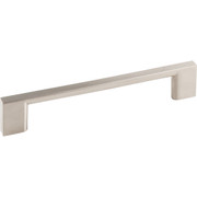 "Sutton Cabinet Pull, 5 3/64"" (128 mm) Center to Center, Satin Nickel Finish"
