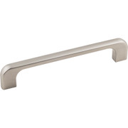 "Alvar Cabinet Pull, 5 3/64"" (128 mm) Center to Center, Satin Nickel Finish"