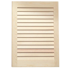 Louvered Door - Maple