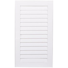 Louvered Door - Painted