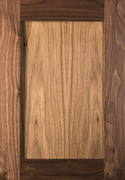 Stained Shaker Door - Walnut