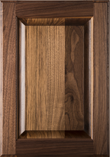 Stained Raised Panel Door - Walnut
