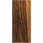 Stained Solid Slab Door - Walnut