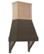 Tapered Farmhouse - Hood Chimney (Trimmable Design)