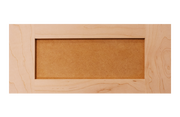 Shaker Maple W/MDF Panel Drawer Front